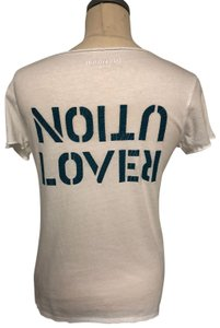 Zadig & Voltaire T Shirt White and Blue