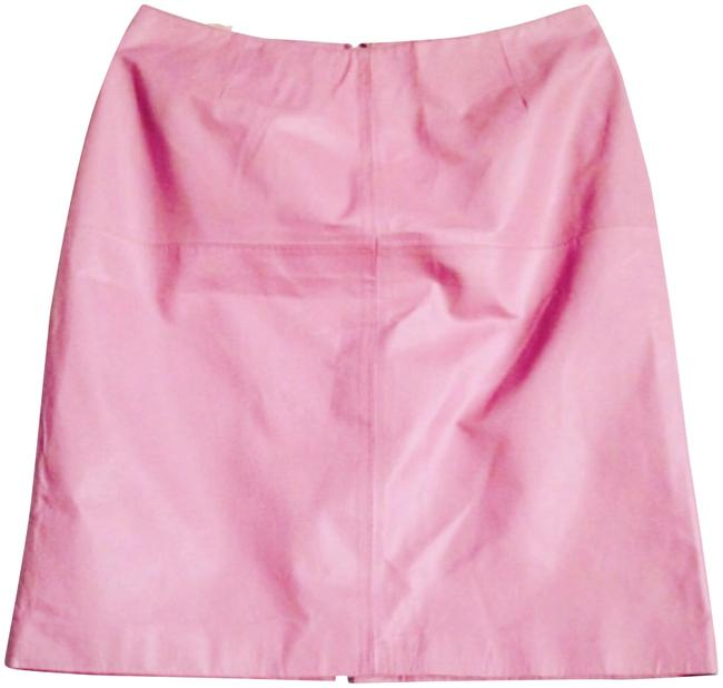 Preload https://img-static.tradesy.com/item/23278358/pink-blush-leather-skirt-size-10-m-31-0-1-650-650.jpg