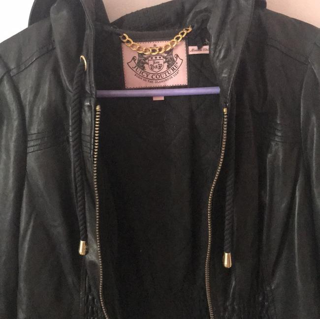 Juicy Couture Leather Jacket Image 4