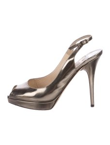 Jimmy Choo Pumps 9 Bronze Sandals