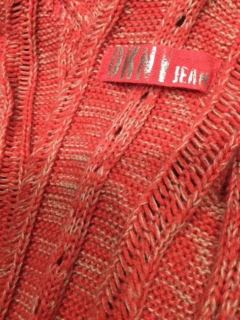 DKNY Jeans Knitted Hooded Cotton Blend Sweater Image 10