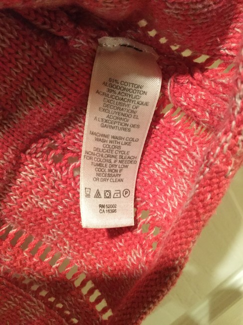 DKNY Jeans Knitted Hooded Cotton Blend Sweater Image 9