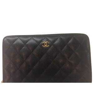 Chanel Chanel Caviar Travel Wallet
