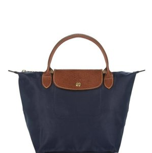 Longchamp Satchel in Navy