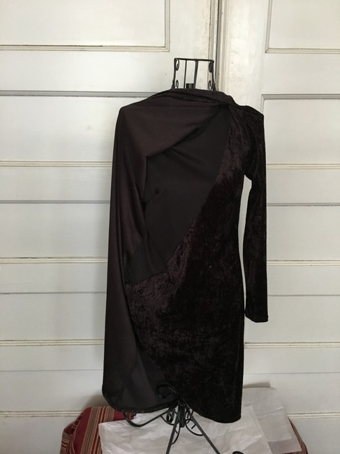 Curations Classic Light Weight Pull Over Drape Dress Image 1