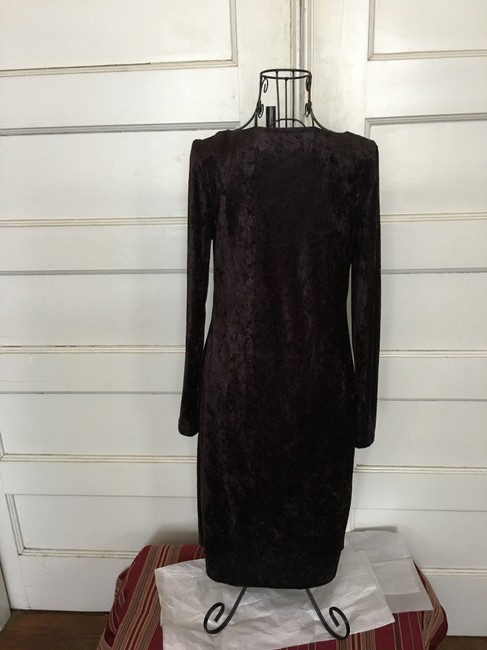 Curations Classic Light Weight Pull Over Drape Dress Image 3