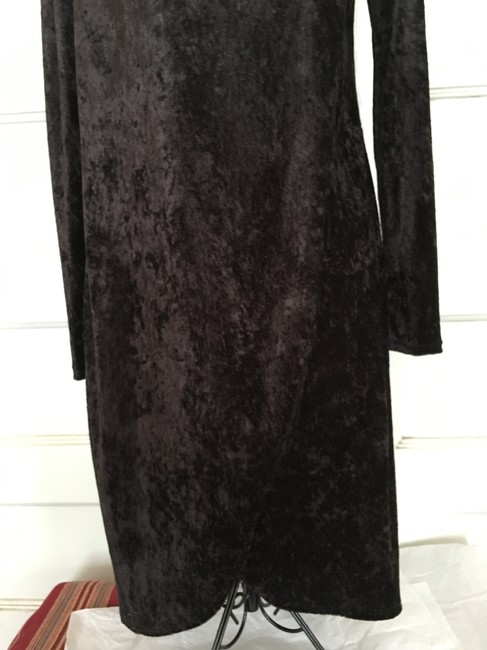 Curations Classic Light Weight Pull Over Drape Dress Image 5