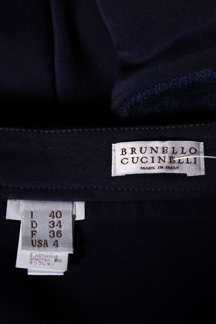 Brunello Cucinelli Skirt Blue Image 4