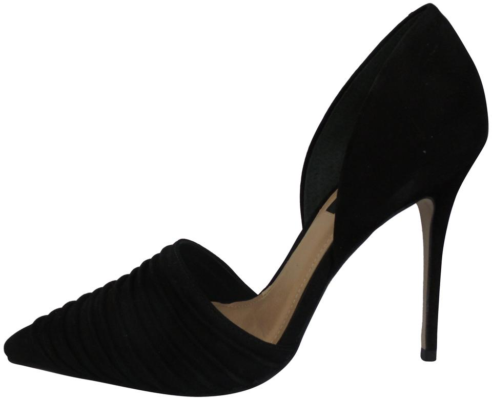 81029e2b3030 Ava   Aiden Black Pointed-toe Pumps. Size  US 7 Regular (M ...