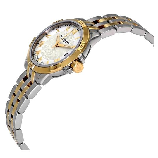 Raymond Weil Swiss Made Tango White Dial Ladies Two Tone Watch Image 1