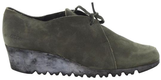 Preload https://img-static.tradesy.com/item/23279252/arche-green-sage-nubuck-leather-lace-up-moccasin-low-wedge-fr41-bootsbooties-size-us-10-regular-m-b-0-1-540-540.jpg