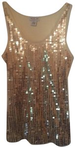 MKM Designs Top sequin gold