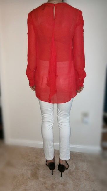 BCBGMAXAZRIA Bcbg Top Red Image 1