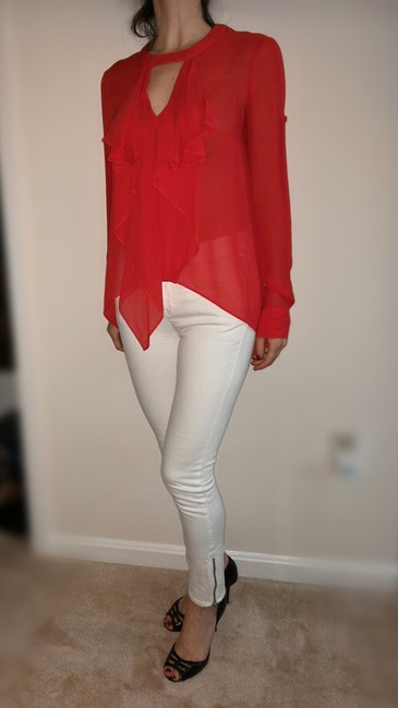 BCBGMAXAZRIA Bcbg Top Red Image 2