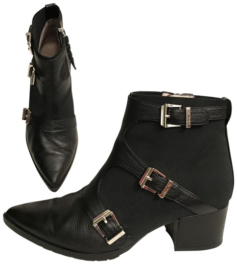 Preload https://img-static.tradesy.com/item/23279447/donald-j-pliner-black-frani-leather-stretch-fabric-donald-and-lisa-ankle-bootsbooties-size-us-75-reg-0-1-540-540.jpg