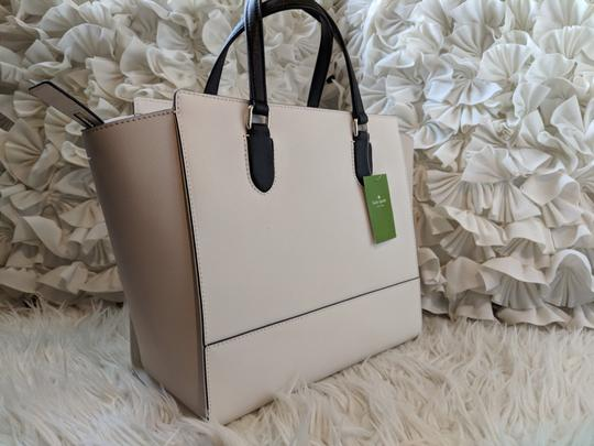Kate Spade Tote in Cement Black Pumice Image 1