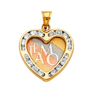 Top Gold & Diamond Jewelry 14K Yellow White Rose Gold CZ Religious Jesus Christ Pendantant