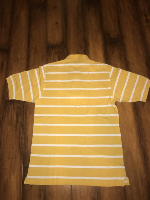 Hugo Boss T Shirt Yellow Image 2