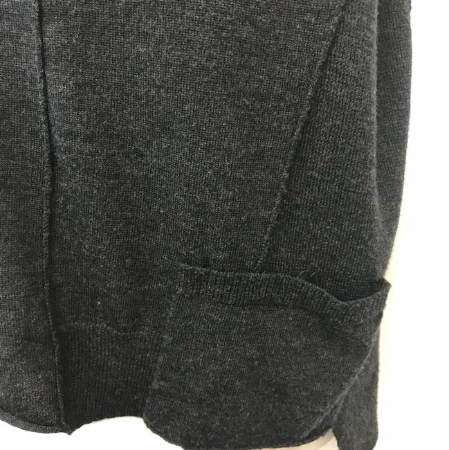 Eileen Fisher Knit Top Gray Image 2