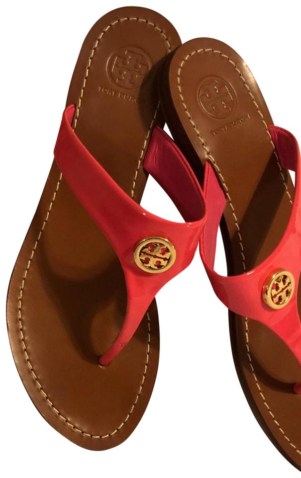 b6aefcfdde3 Tory Burch Hot Pink Sandals. Size  US 6.5 Regular (M ...