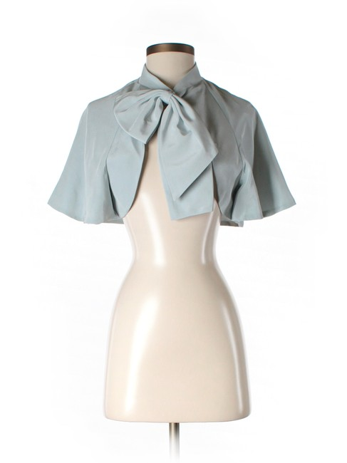 BHLDN Sky Blue Watercourse Jacket BHLDN Sky Blue Watercourse Jacket Image 1