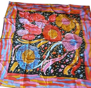 Vera Neumann Gorgeous multi-colored 100%silk scarfe.