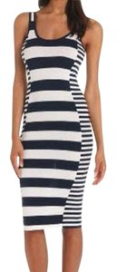 Navy/White Maxi Dress by French Connection