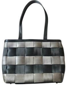 Harveys Tote in black and silver