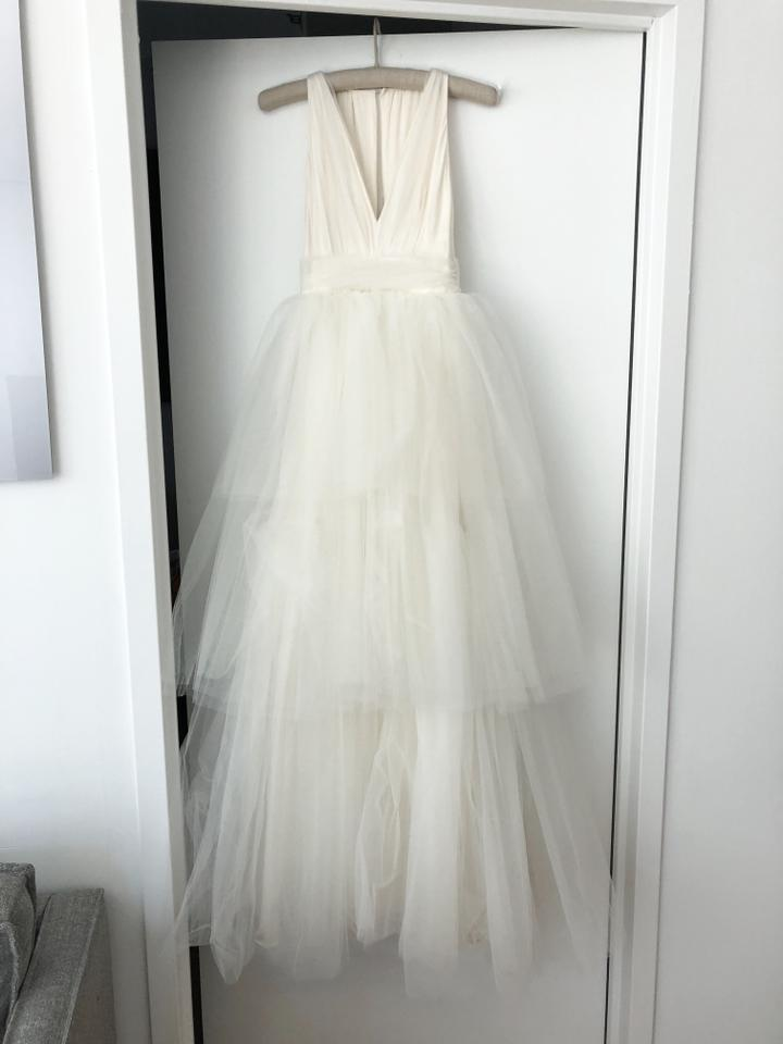 Jason Wu Ivory Tulle With Silk Lining Capsule Collection For Net A Porter Feminine