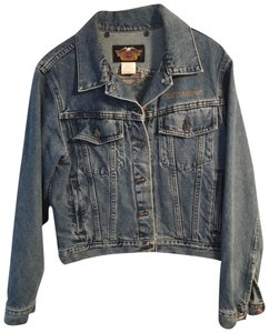 Harley Davidson Cool Relaxed Fit Jean Denim Womens Jean Jacket