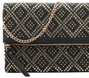 1 Madison black and gold Clutch