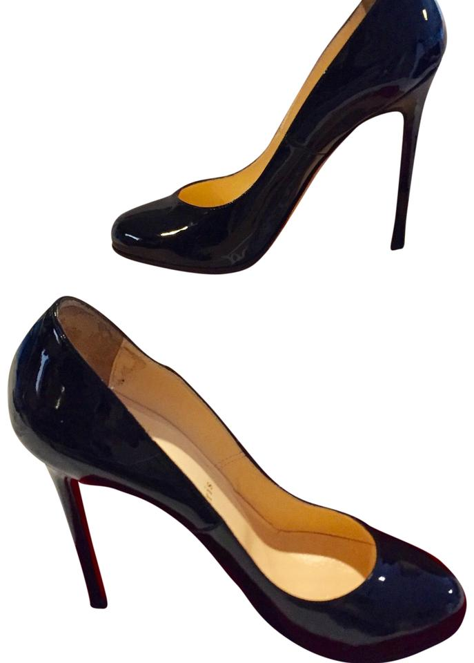 Christian Louboutin Black Lady Lynch Pumps Size EU 36.5 (Approx. US ... b78818aba240