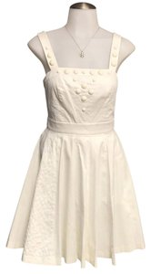 A|X Armani Exchange short dress off white on Tradesy