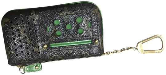 Preload https://img-static.tradesy.com/item/23281802/louis-vuitton-pochette-monogram-perforated-key-chain-key-car-green-leather-clutch-0-1-540-540.jpg