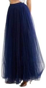 Little Mistress Maxi Skirt Dark blue