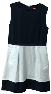 Sinclaire 10 short dress Navy and white on Tradesy