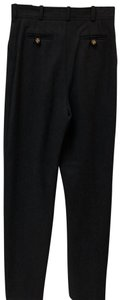 Chanel Straight Pants Dark grey