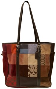 Coach Laptop Rare Signature Tote in Multi-Colored