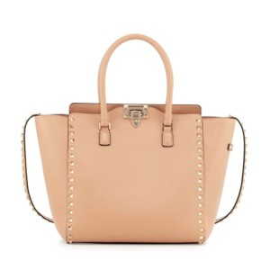 Valentino Satchel in light taupe