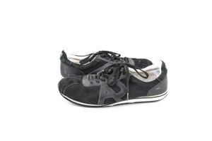 Armani Jeans Black Sneakers Shoes