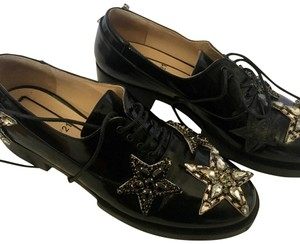 N°21 Loafer Like New Crystal Stars black Flats