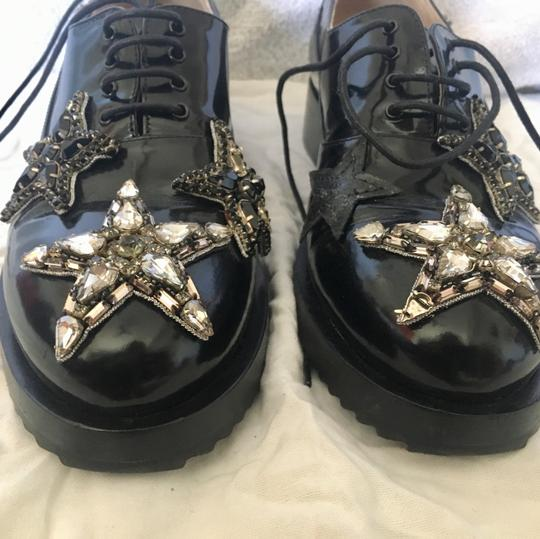 N21 Loafer Like New Crystal Stars black Flats Image 2