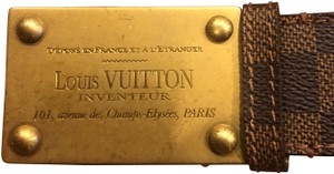 Louis Vuitton Men's Damier Print belt