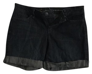 LC Lauren Conrad Cuffed Shorts denim