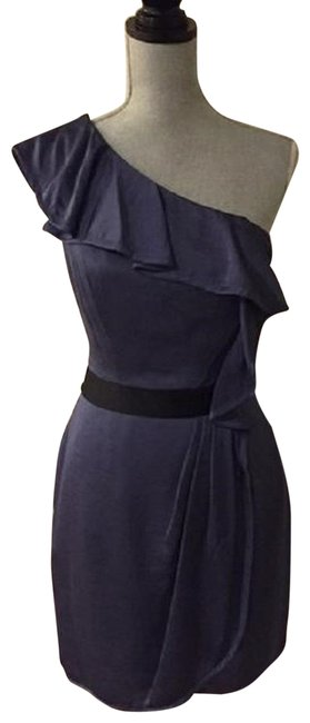 Item - Blue Smoke One Shoulder Short Cocktail Dress Size 8 (M)