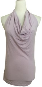 United Colors of Benetton lilac Halter Top