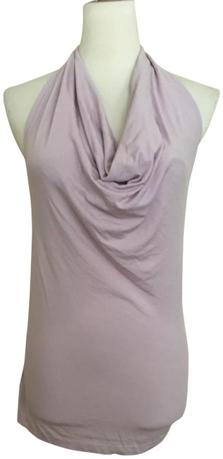 Item - Lilac Draped Knit Halter Top Size 6 (S)