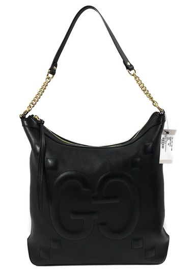 Preload https://img-static.tradesy.com/item/23283241/gucci-453562-apollo-with-embossed-gg-black-leather-shoulder-bag-0-0-540-540.jpg