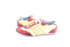 Hugo Boss * Yellow/Red Red/Yellow Sneakers Shoes
