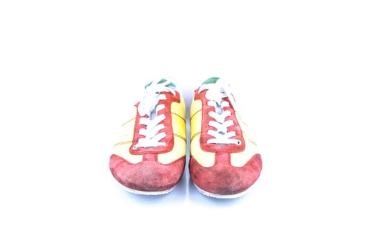 Hugo Boss * Yellow/Red Red/Yellow Sneakers Shoes Image 1